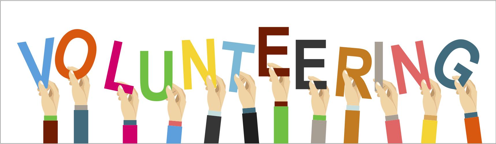 Volunteering horizonal logo